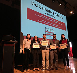 Two projects from Antilles High School won in their respective categories, and will represent DODEA Mid Atlantic District, Puerto Rico at the national competition.