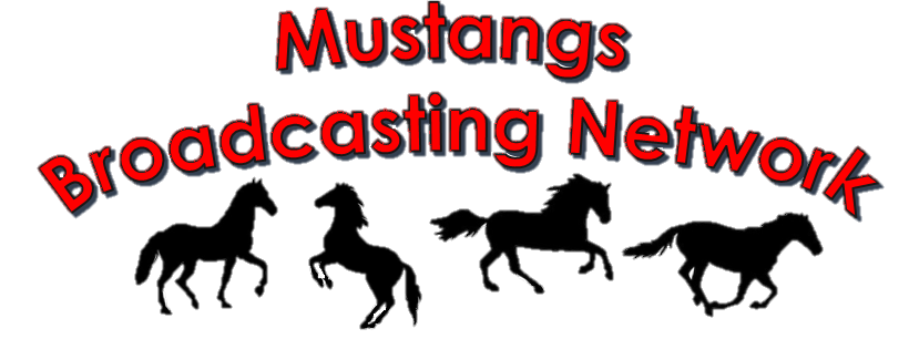 Mustangs Broadcasting Network banner