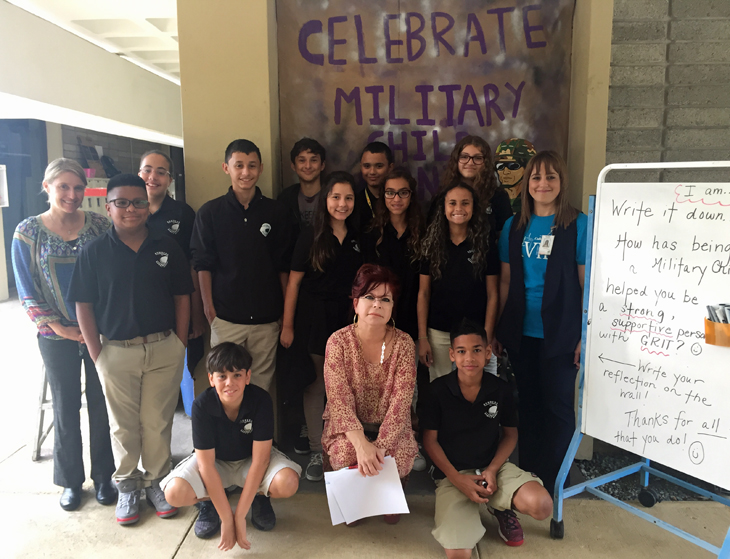 Ramey Celebrates Month of the Military Child