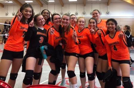 Spangdahlem High School Volleyball Team Wins Championship Game