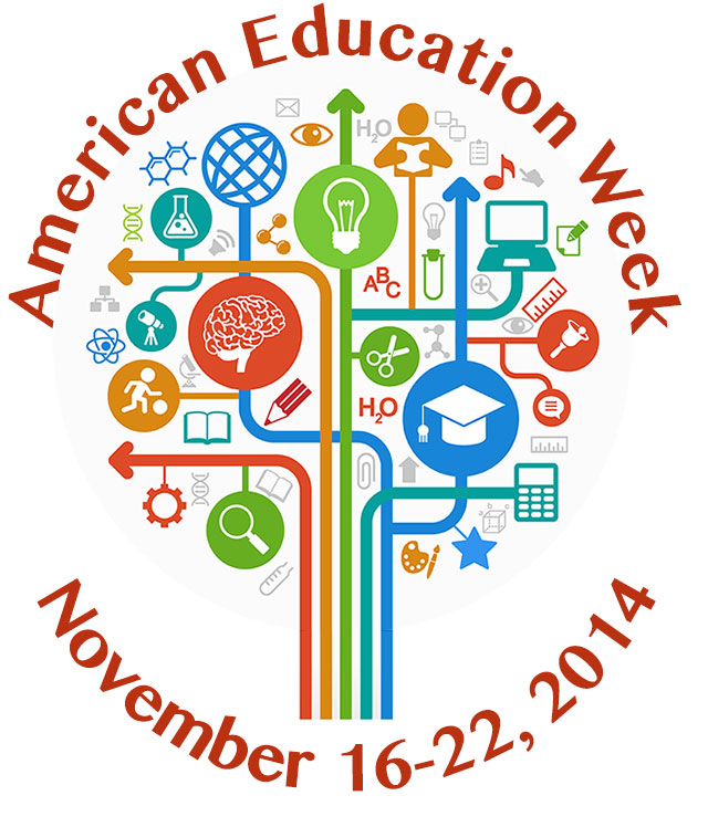 American Education Week Poster - chatorioles