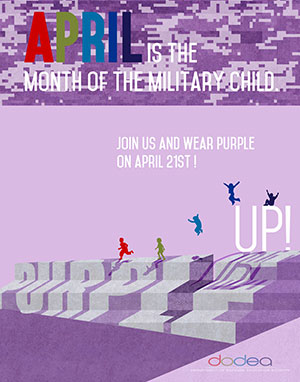 2017 Purple Up Poster