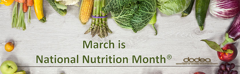 2017 National Nutrition Month