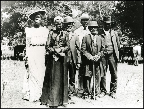 Juneteenth Day Celebration in Texas 1900
