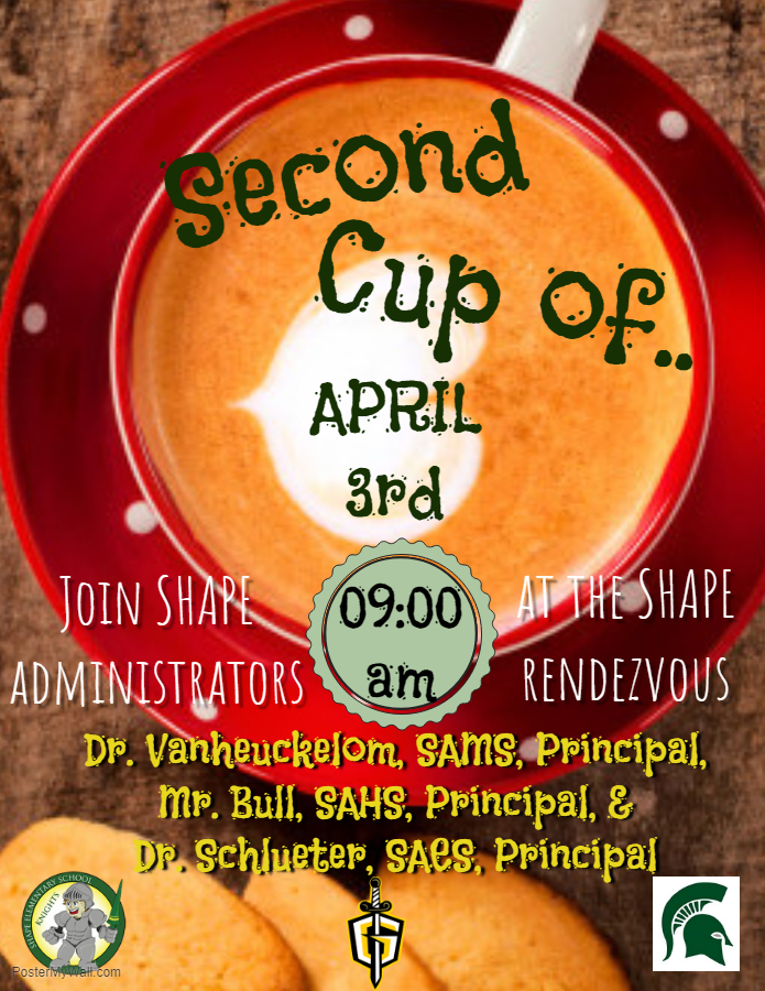 Principal's Cup of Coffee 1st Wednesday