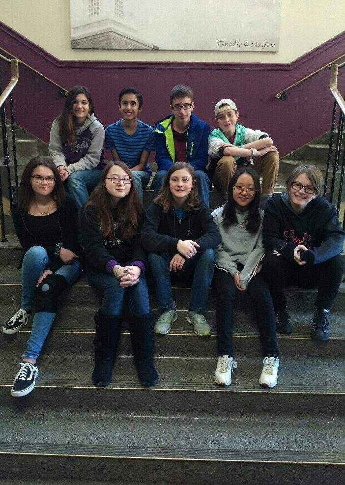 Regional Mathcounts Competitors