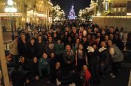 Alconbury band and choral ensemble travels to Disney Paris.