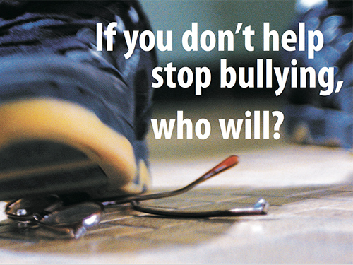 Poster Three - Stop Bullying
