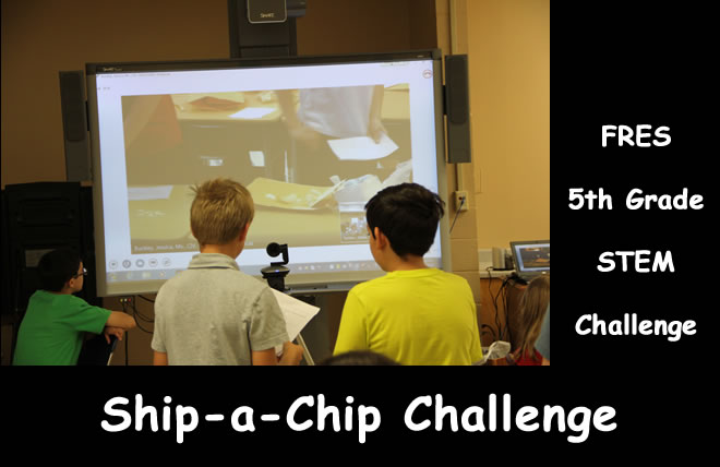 Permanent Link to Ft Rucker ES and Bitz IS collaborate on Ship-a-Chip challenge