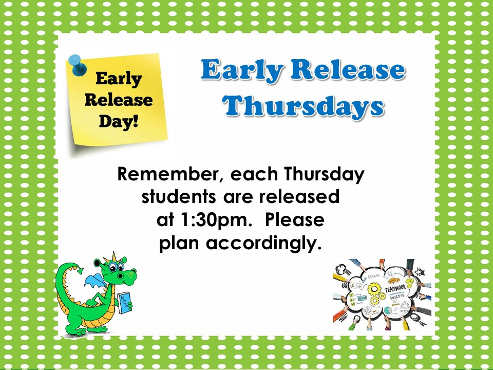 Permanent Link to Netzaberg Elementary School Early Release Thursdays