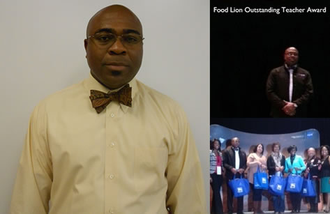 2013 Food Lion Outstanding Teacher