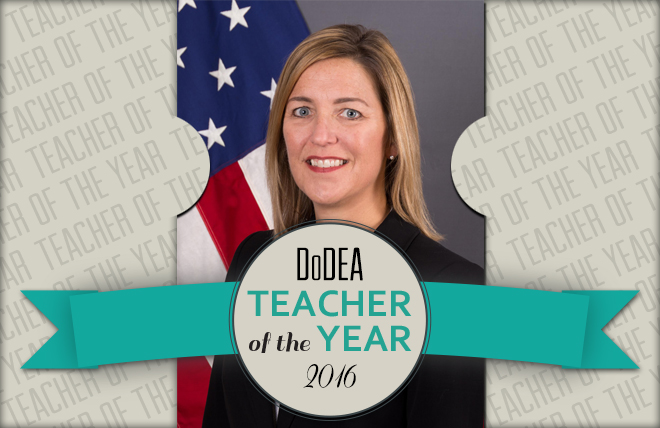 DoDEA Announces 2016 Teacher of the Year