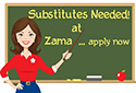 Apply To Be a ZMHS Substitute - Get your ZMHS Sub Application Now!