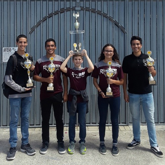 High School Math Team Shines in San Juan