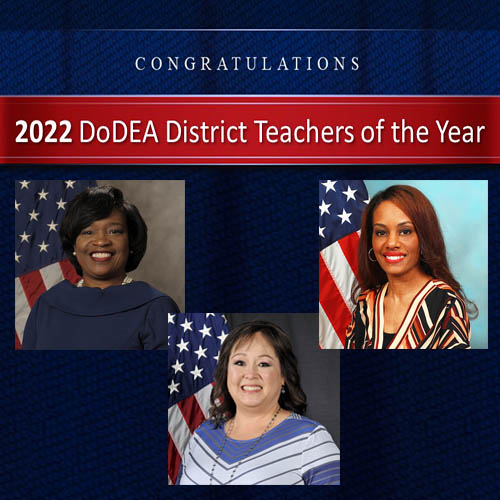 DoDEA Pacific announces 2022 District Teachers of the Year