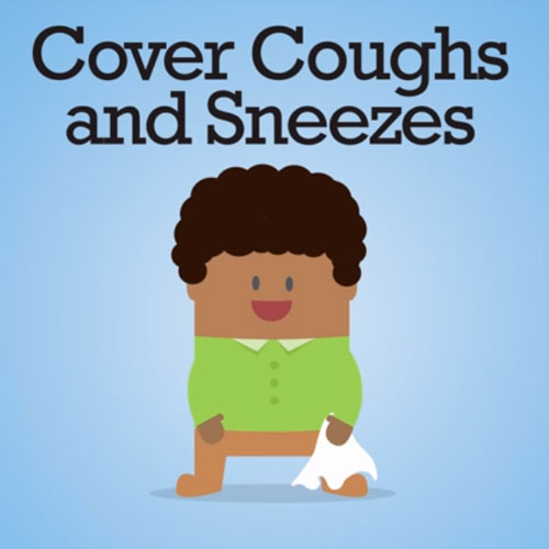 CDC Cover Your Coughs and Sneezes - Kids