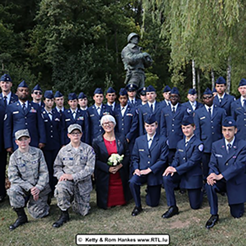 Spangdahlem JROTC Cadets Participate in 75th Anniversary Of the Liberation of Ettlebruck, Luxembourg