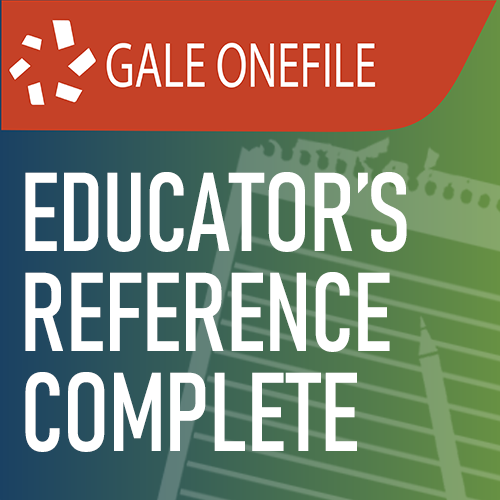 Gale 1F: Educator's Reference Complete