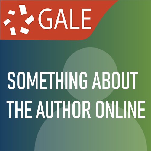 Gale: Something about the Author Online
