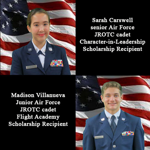 Osan Middle High School AFJROTC students earn scholarships