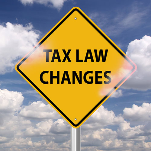 PCS and Tax Changes