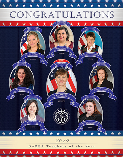 2019 District Teacher of the Year Poster